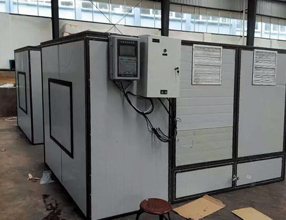 2吨电加热烘干设备