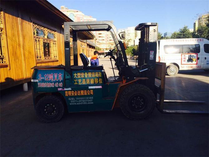 云南设备搬运-五吨叉车设备