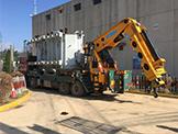 50吨变压器运输