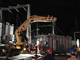 58吨变压器吊装