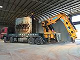 自重45吨大型机械吊装运输
