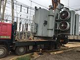 50吨变压器自吊自运