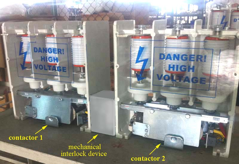 JCZ5-M机械互锁-真空接触器