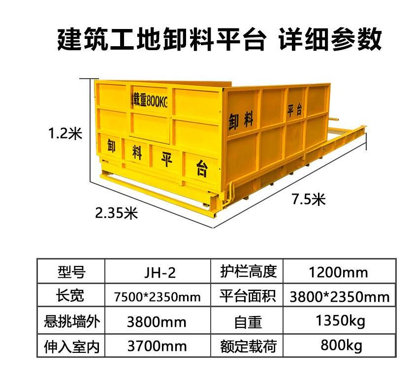 云南建筑施工卸料平臺使用維護