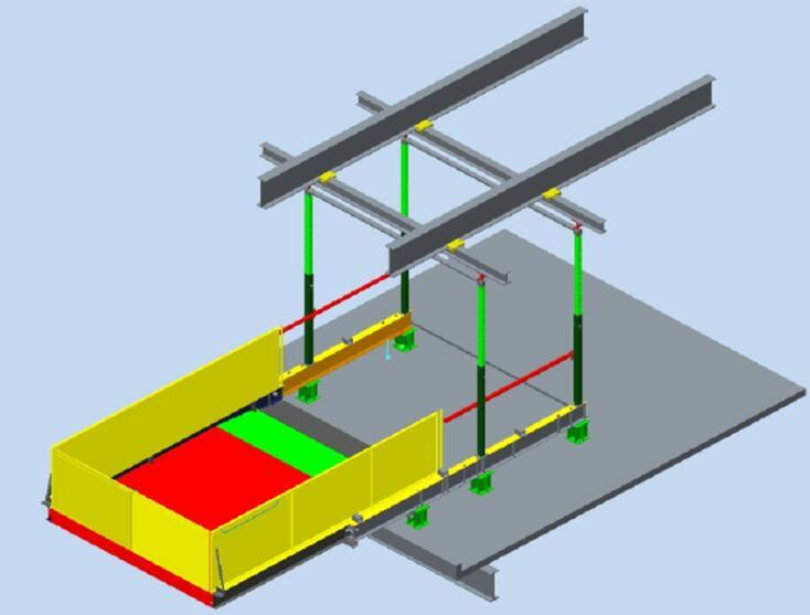 云南建筑施工卸料平台的13个安全注意事项