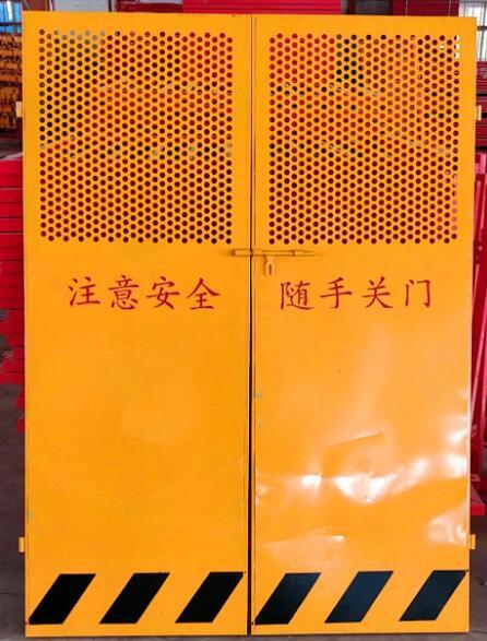 施工電梯樓層防護門的規范尺寸