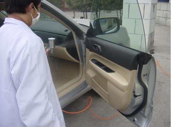 車內甲醛檢測