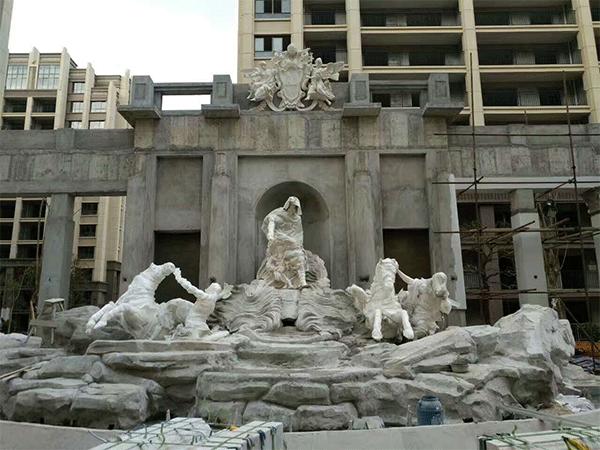 云南雕塑厂:园林雕塑的作用与用途