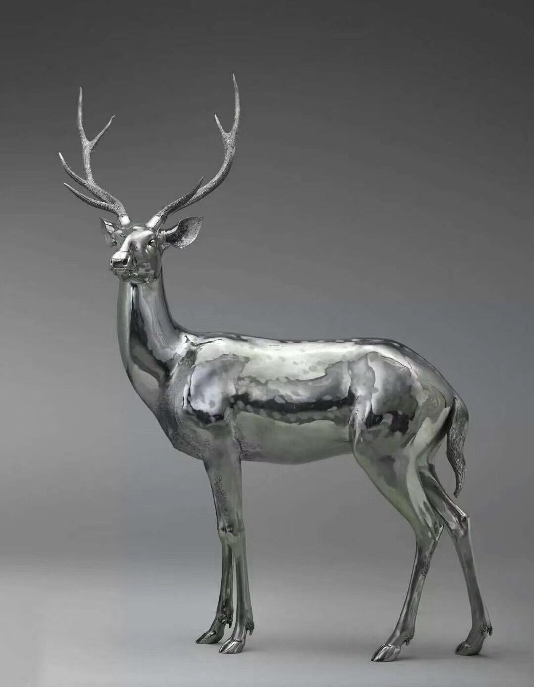 不锈钢雕塑优点