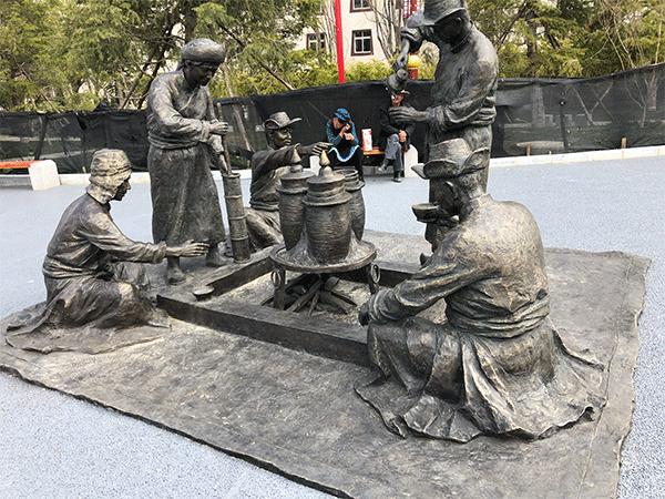 云南玻璃钢雕塑