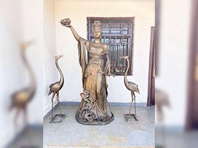 銅雕制作過程及銅雕的保養方法