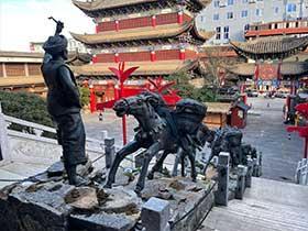 茶马古道雕塑2