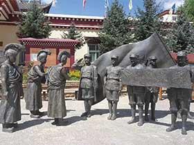 青铜文化雕塑