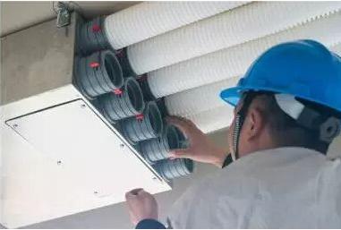 新风系统风管排布