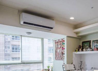壁挂空调安装效果