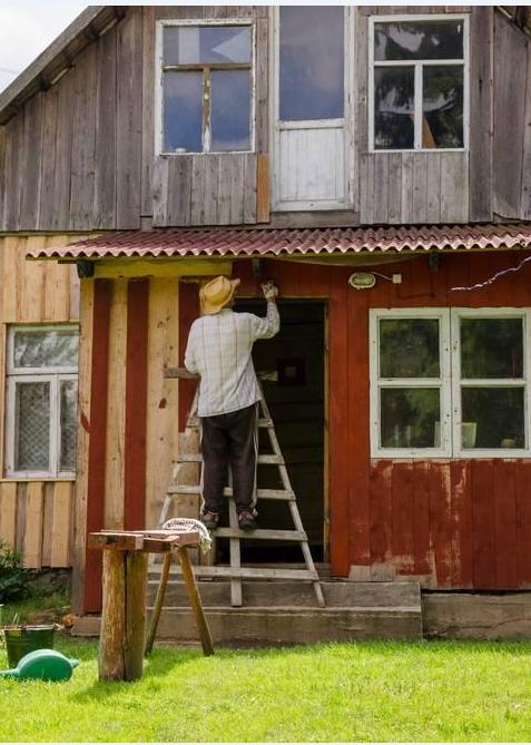 木别墅防腐木木油运用