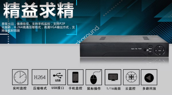 16路網絡硬盤錄像機