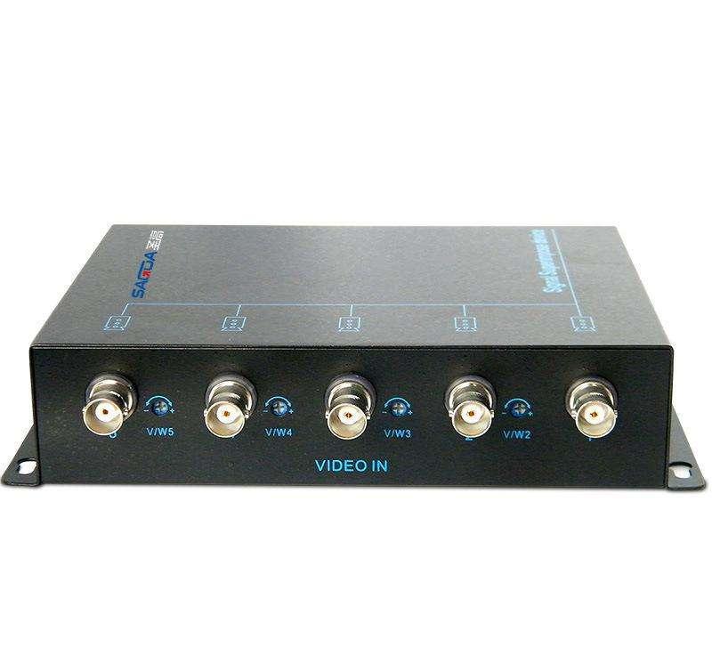 視頻信號二合一疊加器