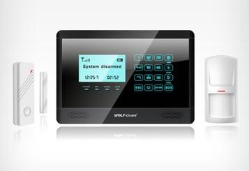 GSM防盗报警器 触摸按键-万博手机官网登录网页版安防报警