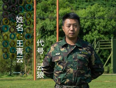 姓名:王青云    代號:云狼