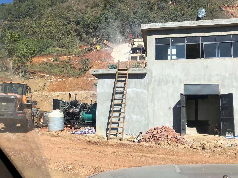 矿山移动发电机