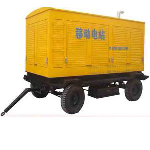 云南发电机租赁厂家出租移动柴油发电机组