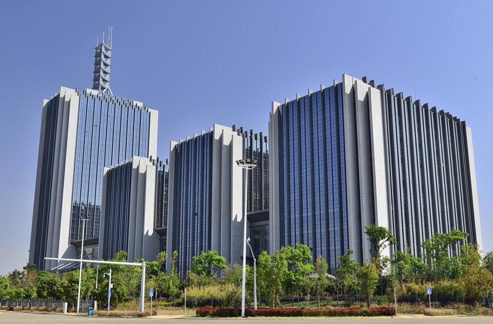 亚广传媒中心大楼