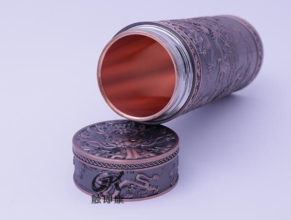 云南九龙纯紫铜保温杯