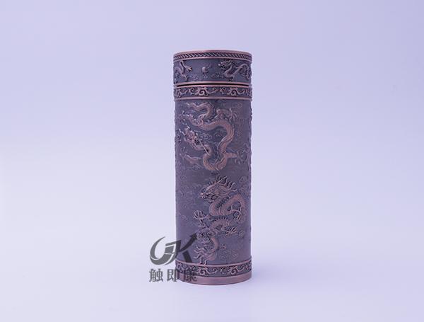 云南腾龙纯紫铜保温杯