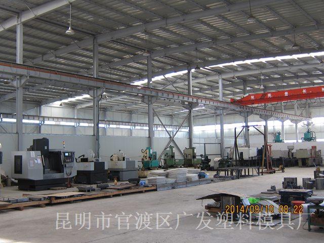 昆明大型CNC加工厂家-车间一角4