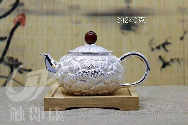 纯手工一体银茶壶 2