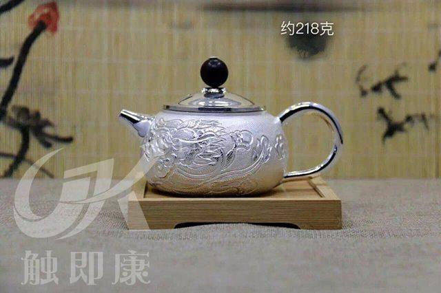 纯手工一体银茶壶 4