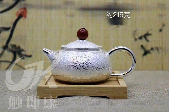 纯手工一体银茶壶 5