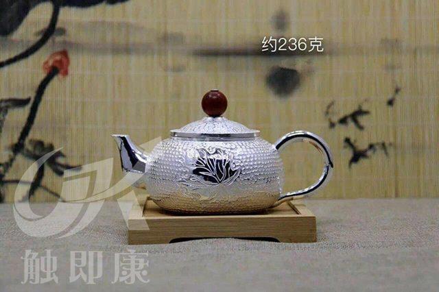 纯手工一体银茶壶 6