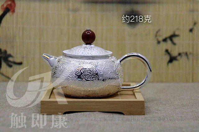 纯手工一体银茶壶 7