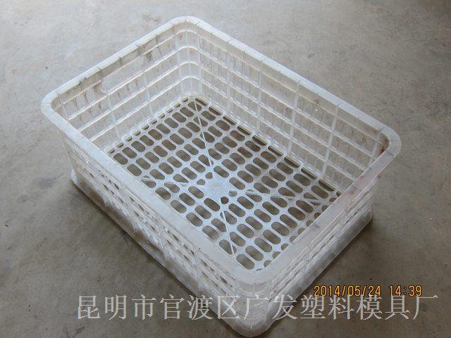云南塑料模具厂加工-水果筐 周转筐 蔬菜筐