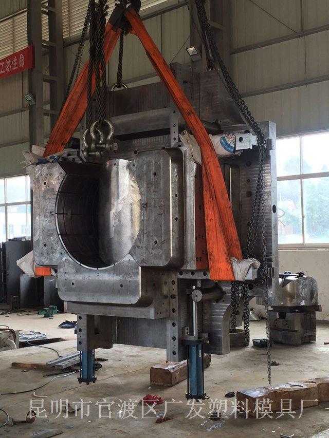 云南模具-大型管件模具配模