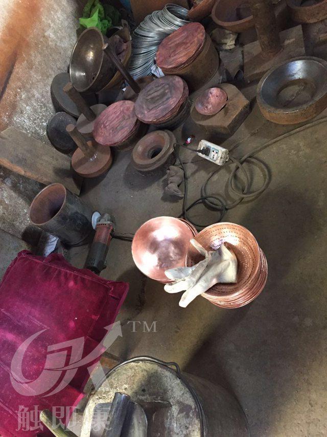 昆明铜壶厂家-铜壶加工展示图片