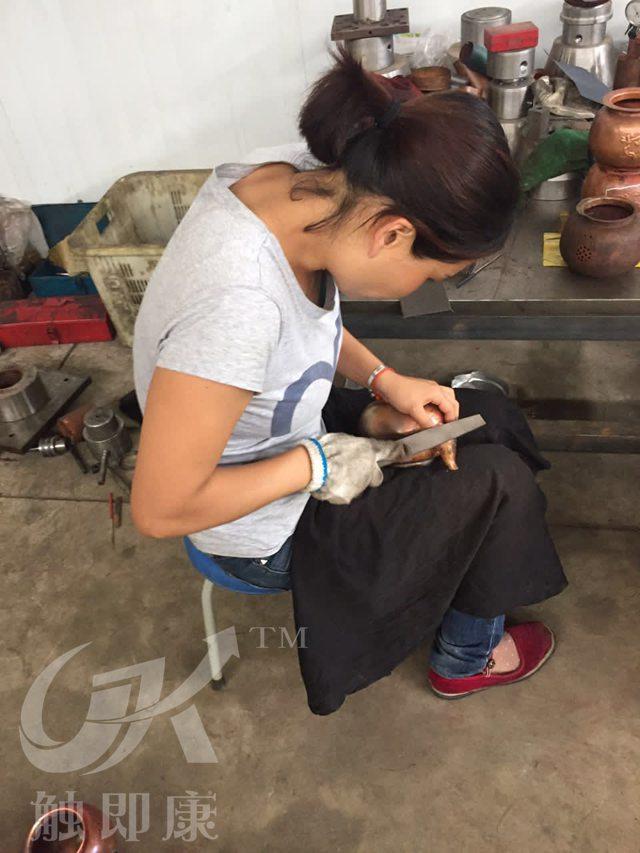 昆明铜壶厂家-铜壶加工流程