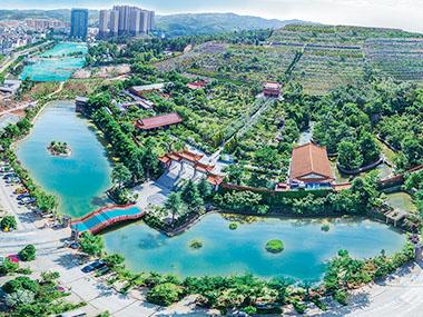 金陵公墓寿延湖
