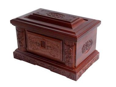 红木骨灰盒