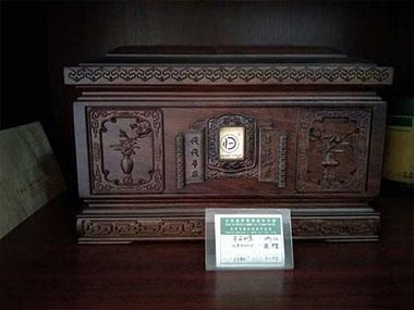 实木骨灰盒