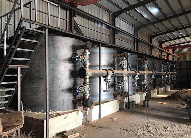 干馏式炭化窑