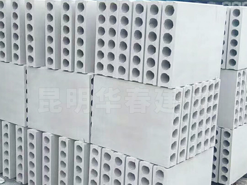 石膏空心隔墙砌块