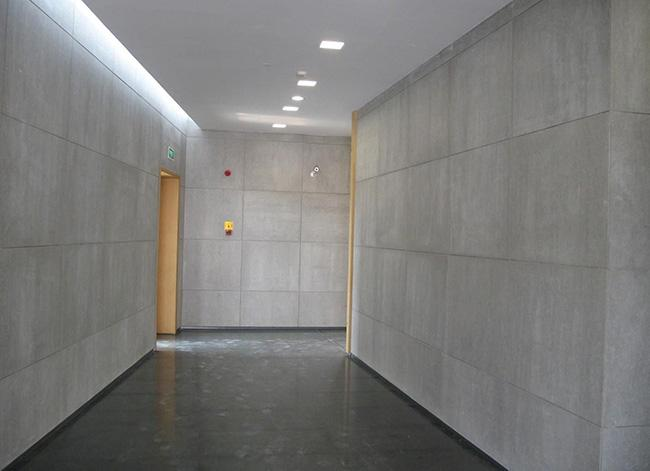 室内清水混凝土板