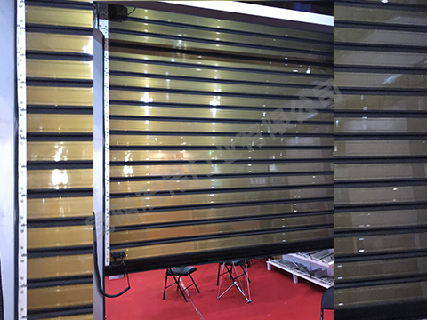 铝合金卷帘门对比滑板门的优势