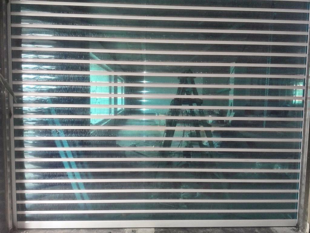 店铺水晶卷帘门