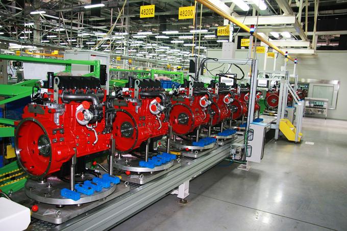 2017年康明斯发动机产销发动机突破20万台