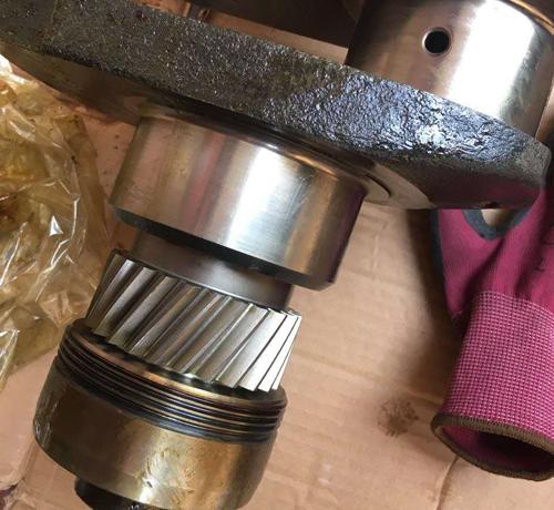 重汽原厂代加工曲轴