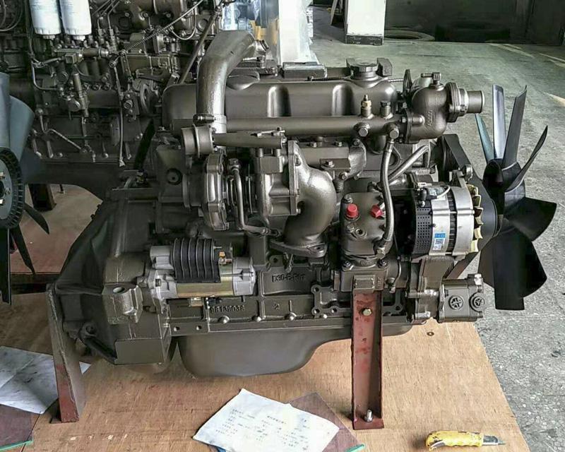 玉柴4108中冷增压130马力发动机总成